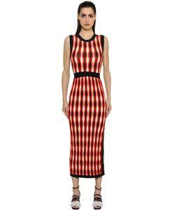 Sportmax | Stretch Jacquard Knit Dress
