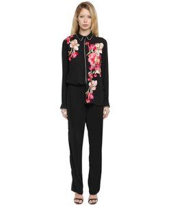 AINEA | Hand-Embroide Crepe Pajama Set