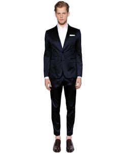 Dsquared2 | Stretch Cotton Gabardine Paris Suit