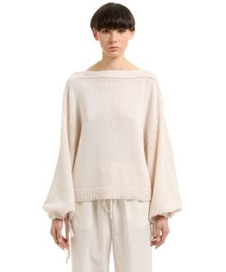 Jil Sander | Cotton Cashmere Silk Blend Sweater