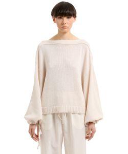 Jil Sander | Cotton Cashmere Silk Blend Sweater