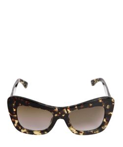 Linda Farrow | Acetate Tortoise Shell Effect Sunglasses