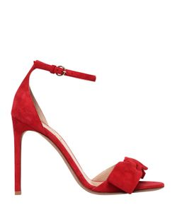 Valentino | 105mm Pretty Bow Suede Sandals