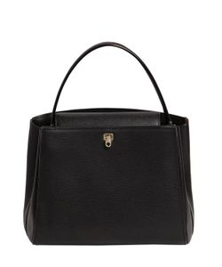 Valextra | Small Brera Leather Top Handle Bag