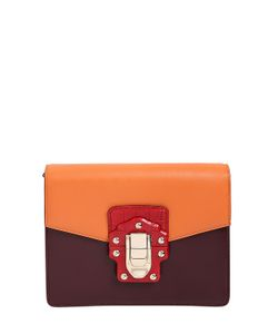Dolce & Gabbana | Lucia Two Tone Leather Shoulder Bag