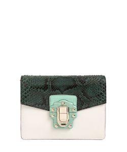 Dolce & Gabbana | Lucia Python Leather Shoulder Bag