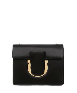 Salvatore Ferragamo | Small Thalia Leather Shoulder Bag