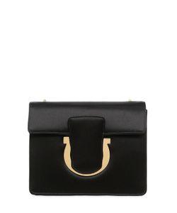 Salvatore Ferragamo   Small Thalia Leather Shoulder Bag