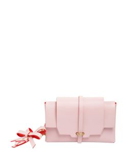 NIELS PEERAER | Small Bow Leather Clutch