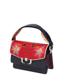 Paula Cademartori | Twitwi Intarsia Leather Shoulder Bag