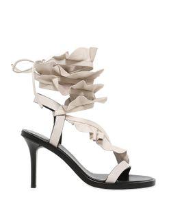 Isabel Marant | 85mm Ansel Ruffled Leather Sandals