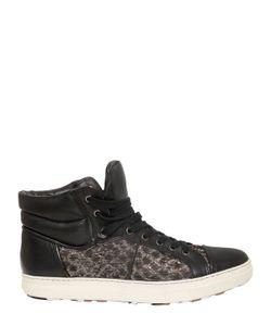Mihara Yasuhiro | Woven Silk Leather Sneakers