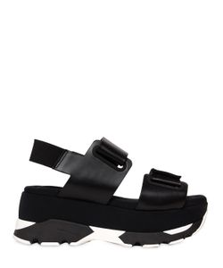 Marni | 80mm Laser Cut Leather Sandals