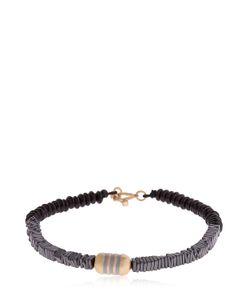 Luis Morais | Striped Enameled Pill Bracelet