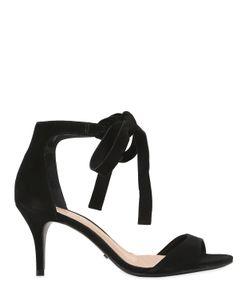 Schutz | 80mm Clarita Bow Suede Sandals