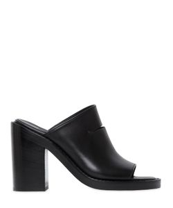 Ann Demeulemeester | 100mm Cut Out Leather Mule Sandals