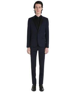 Saint Laurent | Virgin Wool Gabardine Tuxedo Suit