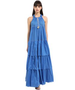 Yvonne S | Layered Cotton Voile Maxi Dress