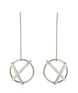 Eshvi   Rebel Drop Earrings