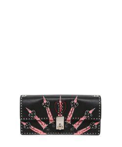 Valentino | Hearts Studded Leather Shoulder Bag