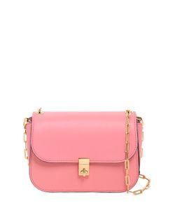 Valentino | Chain Details Leather Shoulder Bag