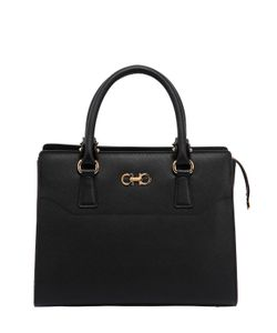 Salvatore Ferragamo | Beky Saffiano Leather Top Handle Bag