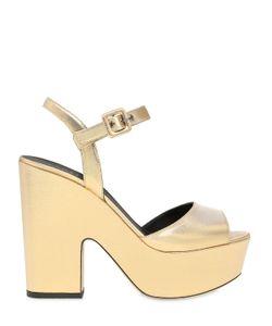 LE SILLA | 130mm Lurex Platform Sandals