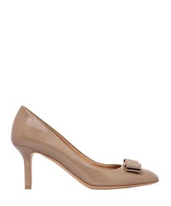 Salvatore Ferragamo | 70mm Erice Brushed Leather Pumps