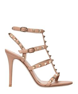 Valentino | 105mm Rockstud Leather Sandals