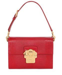 Dolce & Gabbana | Lucia Embossed Leather Shoulder Bag