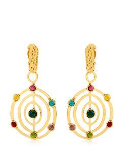 Sylvia Toledano | Éllipse Stone Earrings