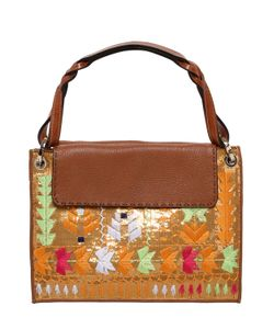 Etro | Embroidered Sequined Leather Bag