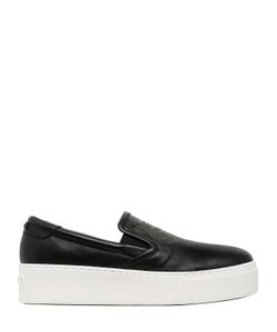 Kenzo | 40mm Tiger Leather Platform Sneakers