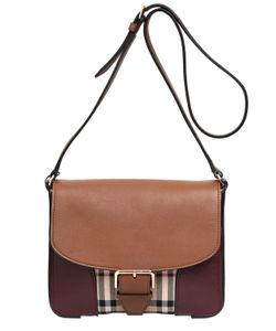 Burberry | Dickens Check Leather Shoulder Bag