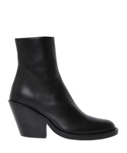 Ann Demeulemeester | 80mm Leather Ankle Boots