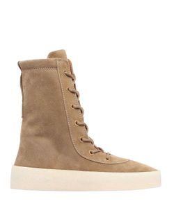 Yeezy | Suede Lace Up Boots
