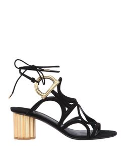 Salvatore Ferragamo | 55mm Vinci Suede Lace Up Sandals