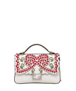 Fendi | Micro Double Baguette Studded Bow Bag