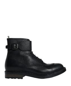 Officine Creative | Leather Boots With Buckle Strap