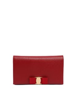 Salvatore Ferragamo | Saffiano Leather Clutch W Chain Strap