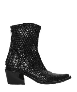 Alyx | 40mm Rodeo Woven Leather Ankle Boots