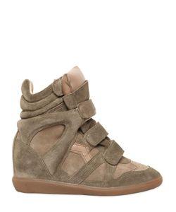 Isabel Marant   Etoile 80mm Bekett Suede Wedge Sneakers