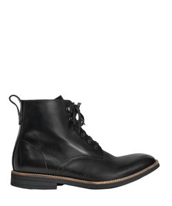 Paul Smith | Leather Lace-Up Ankle Boots