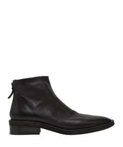 Marsèll | 40mm Vintage Effect Leather Ankle Boots