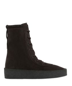 Yeezy | 30mm Suede Boots
