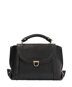 Salvatore Ferragamo | Medium Soft Sofia Leather Top Handle Bag