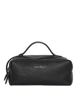 Salvatore Ferragamo | Signed Grained Leather Pouch