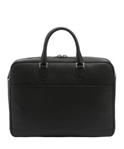 Valextra | Vietta Leather Briefcase
