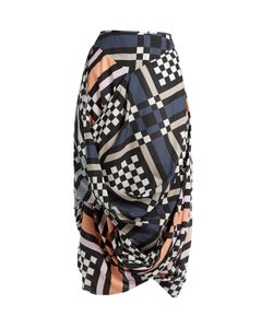 Vivienne Westwood Anglomania | Eight Nomad Checked Cotton Skirt