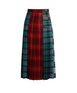 Gucci | Tartan Wool Skirt